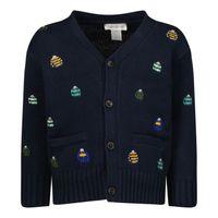 Picture of Ralph Lauren 853375 baby vest navy