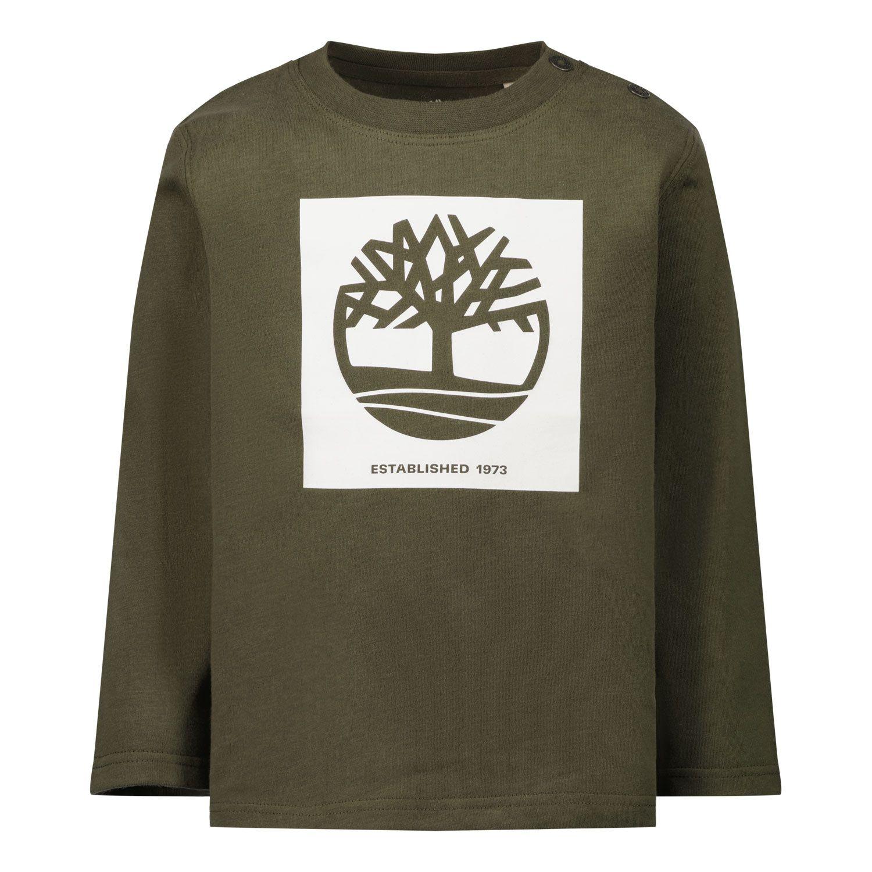 Afbeelding van Timberland T05K18 baby t-shirt army