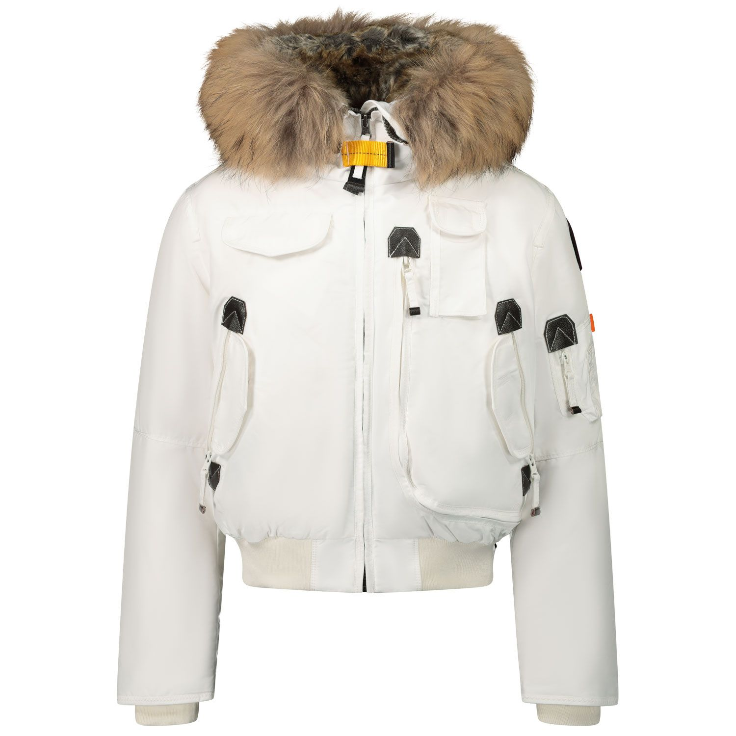 Picture of Parajumpers MA81 kids jacket off white