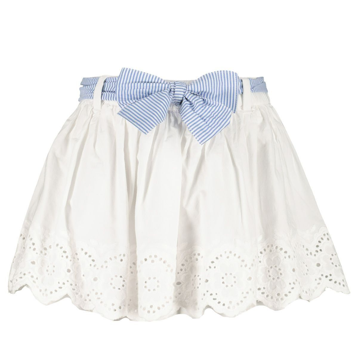 Picture of Mayoral 1901 baby skirt white