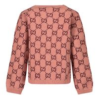 Picture of Gucci 621874 baby vest light pink