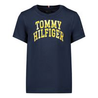 Picture of Tommy Hilfiger KB0KB06097B baby shirt navy