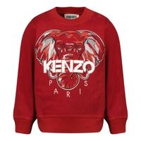 Picture of Kenzo K05095 baby sweater dark red