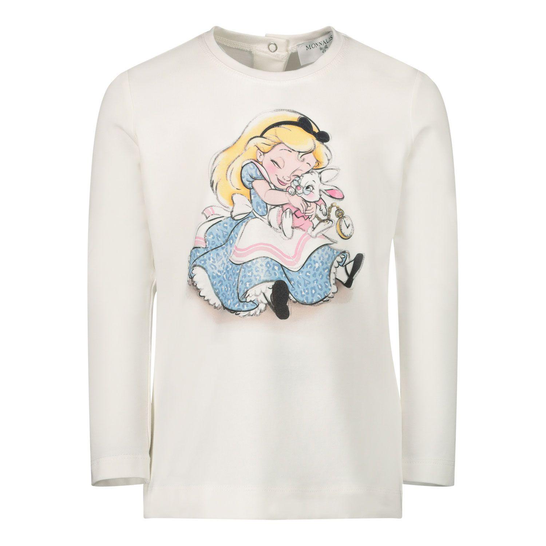 Bild von MonnaLisa 396620P6 Baby-T-Shirt Creme