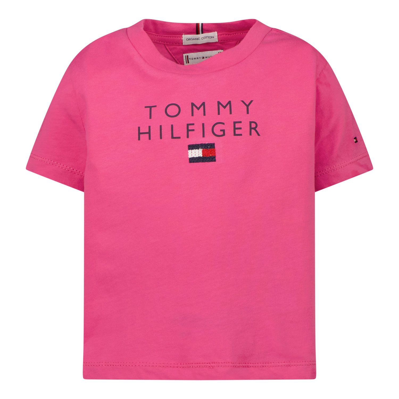 Bild von Tommy Hilfiger KG0KG06163B Baby-T-Shirt Fuchsia
