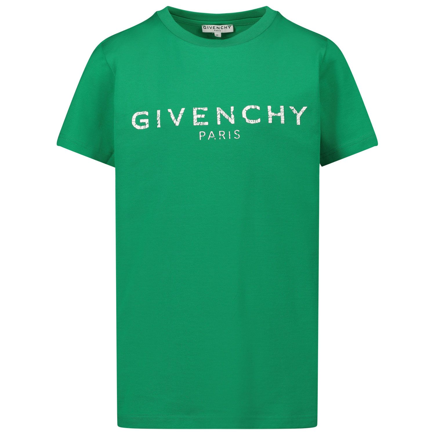 Picture of Givenchy H25J47 kids t-shirt green