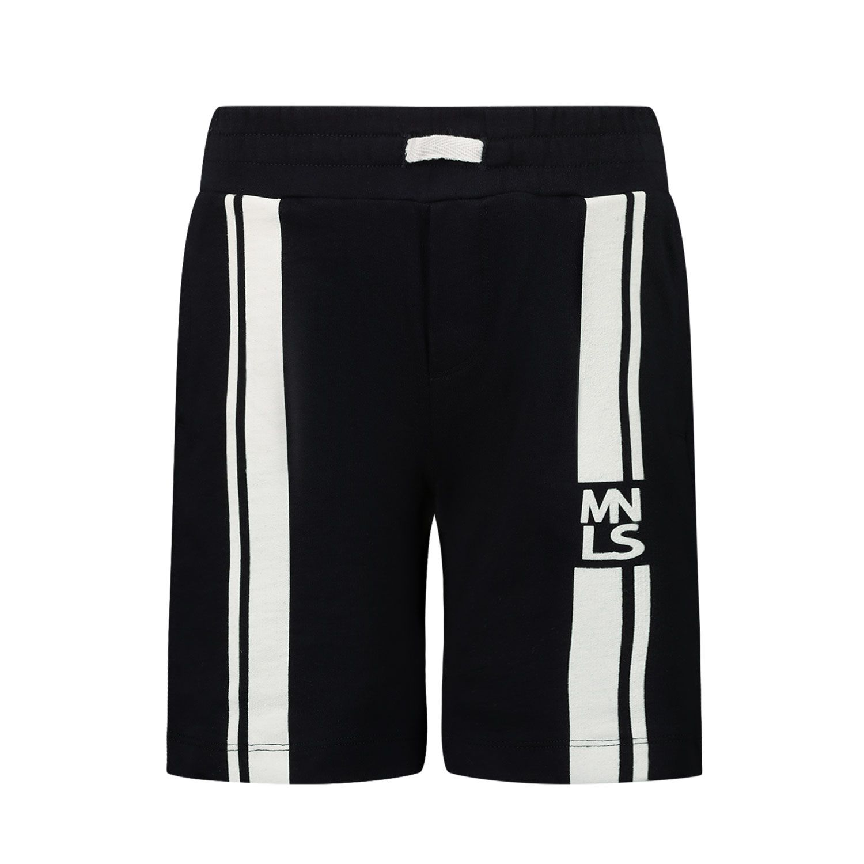 Picture of MonnaLisa 257414 kids shorts navy