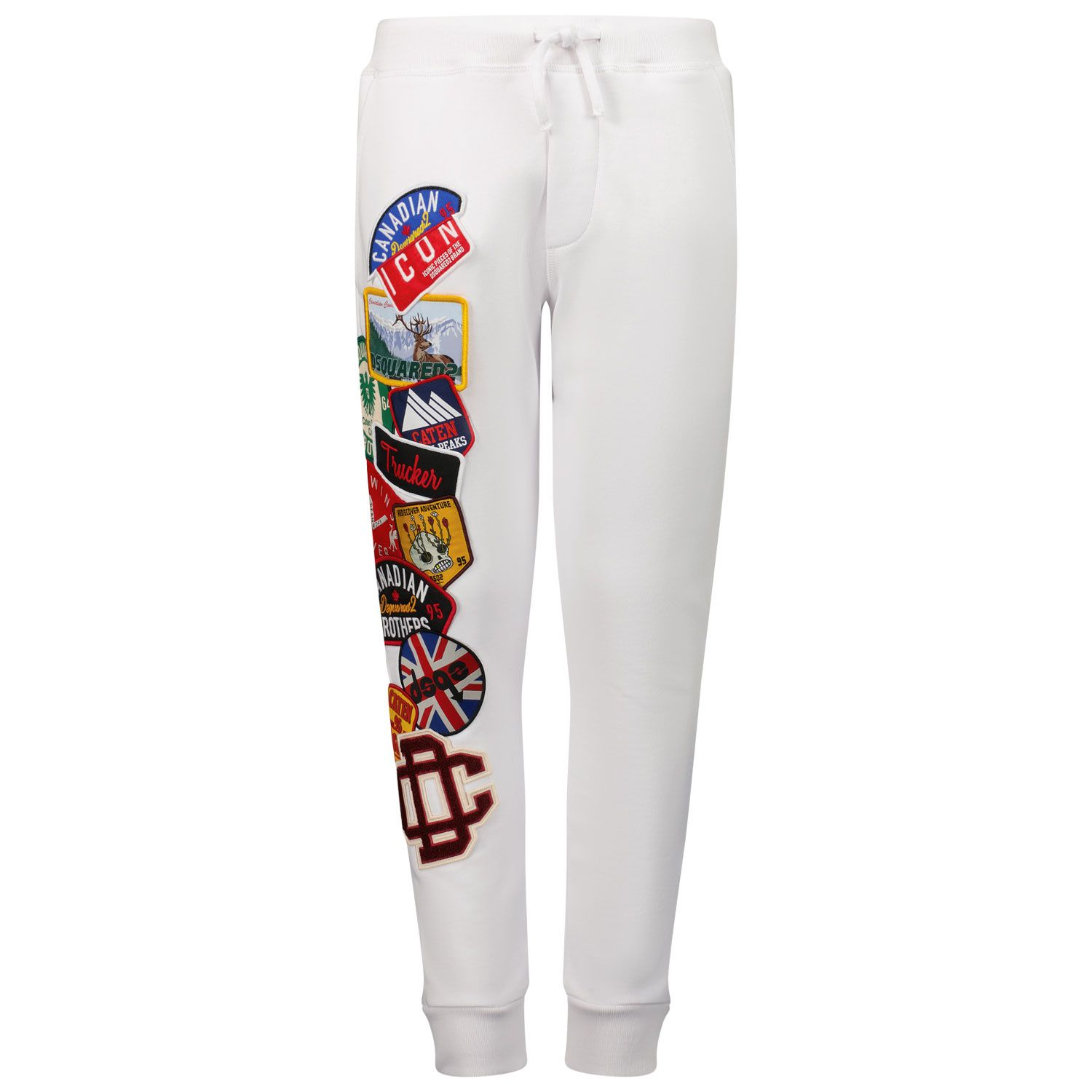 Picture of Dsquared2 DQ0338 kids jeans white