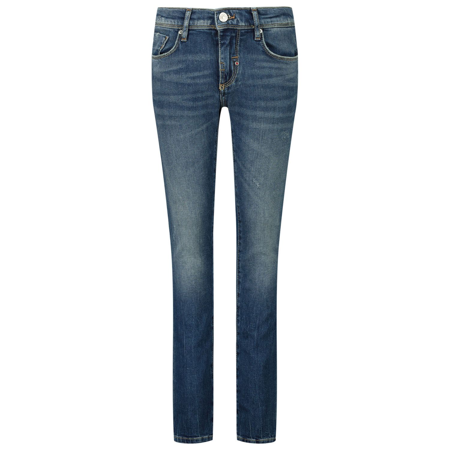 Picture of Antony Morato MFDT00054 FA750280 kids jeans jeans