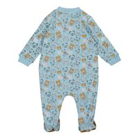Picture of Moschino MUY03F baby playsuit light blue