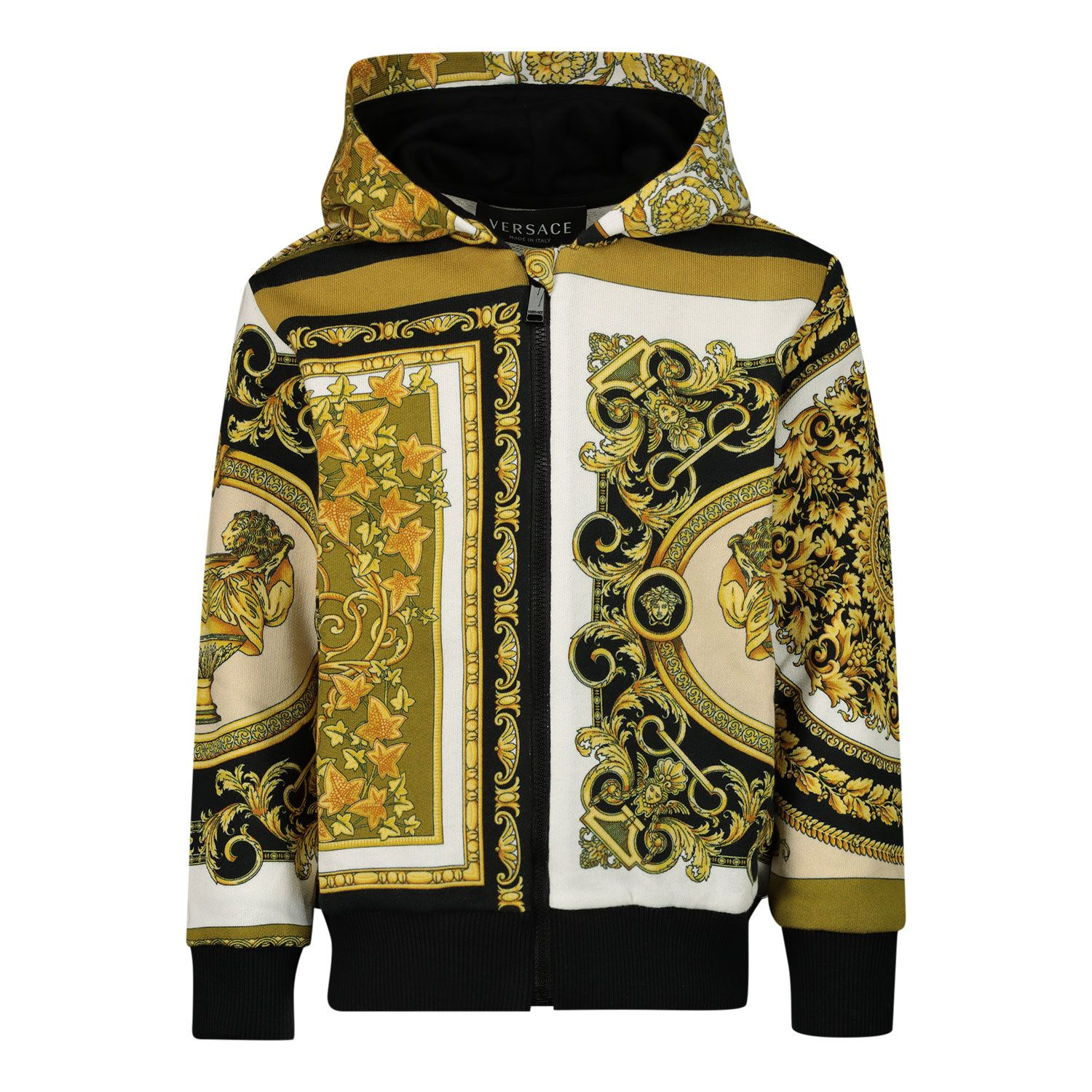 Picture of Versace 1000335 baby vest white