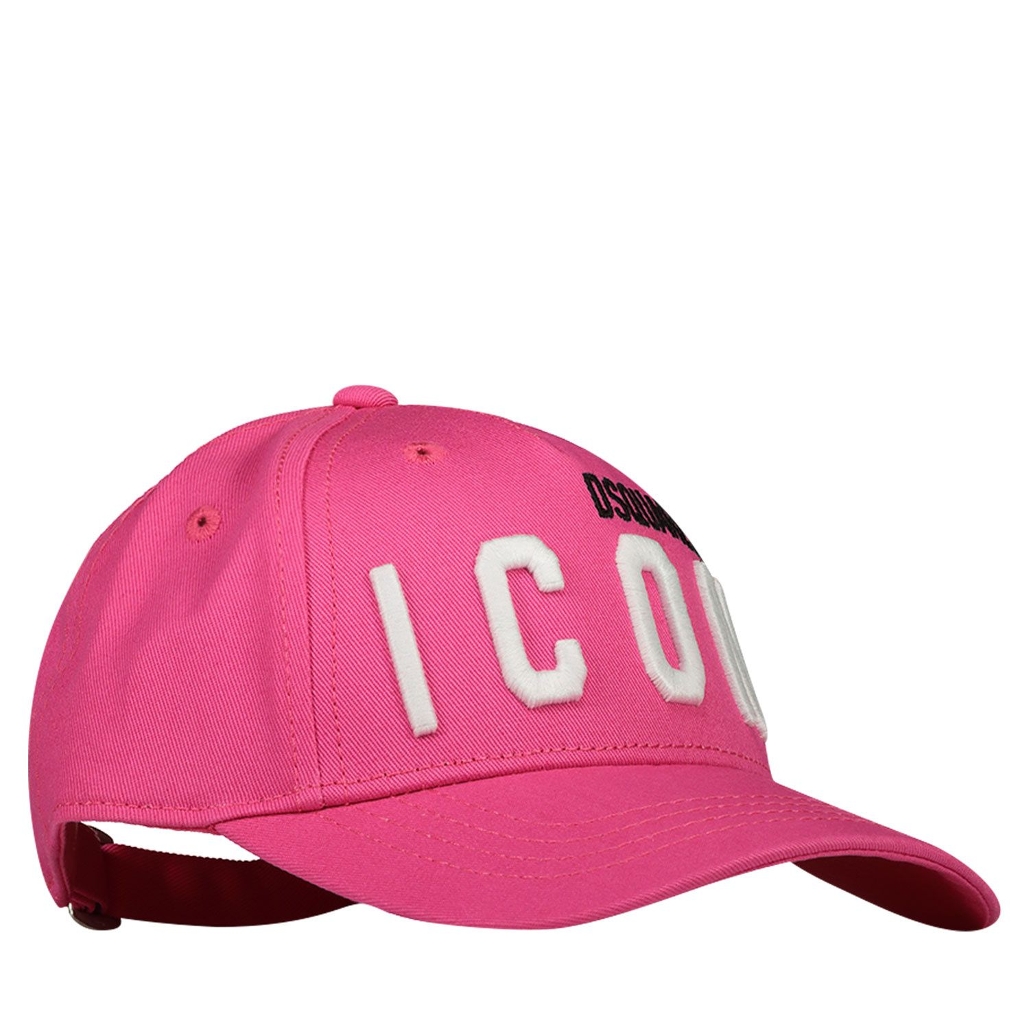 Picture of Dsquared2 DQ0270 baby hat fuchsia