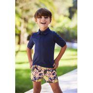 Afbeelding van SEABASS SWIMSHORT kinder zwemkleding zalm/geel