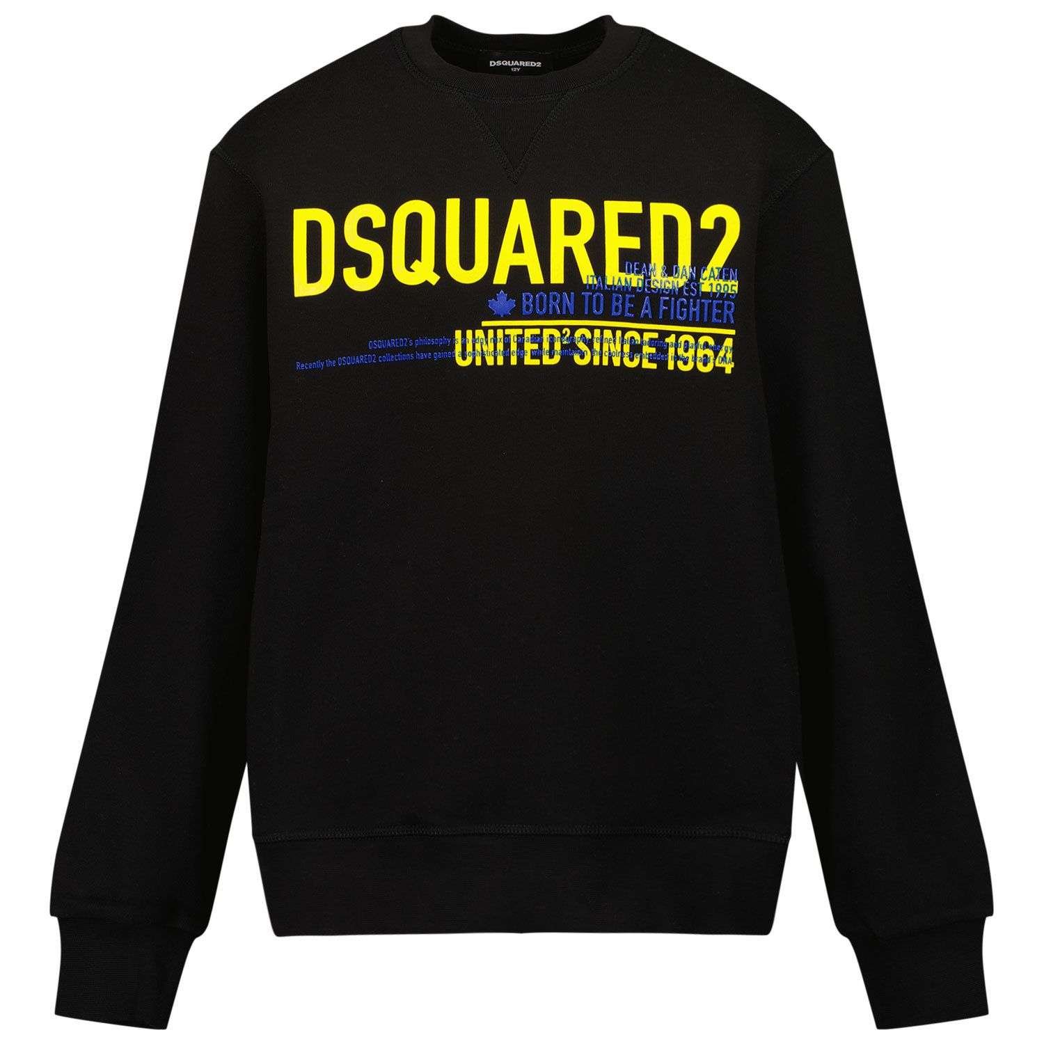 Picture of Dsquared2 DQ0530 kids sweater black