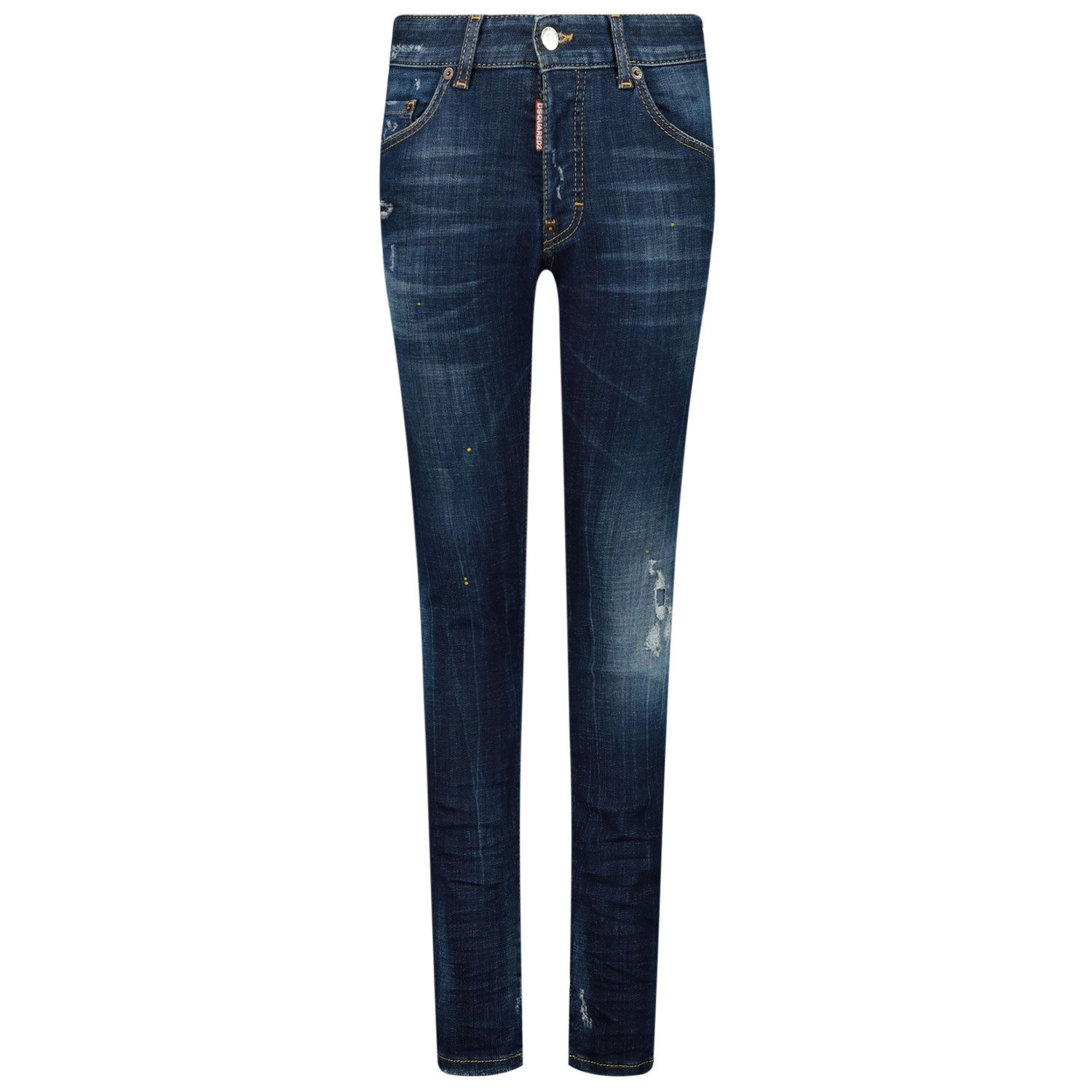 Picture of Dsquared2 DQ042L kids jeans jeans