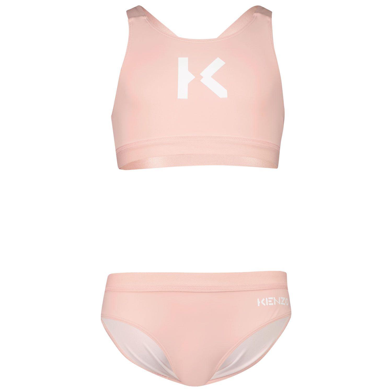 Afbeelding van Kenzo K10004 kinder zwemkleding licht roze