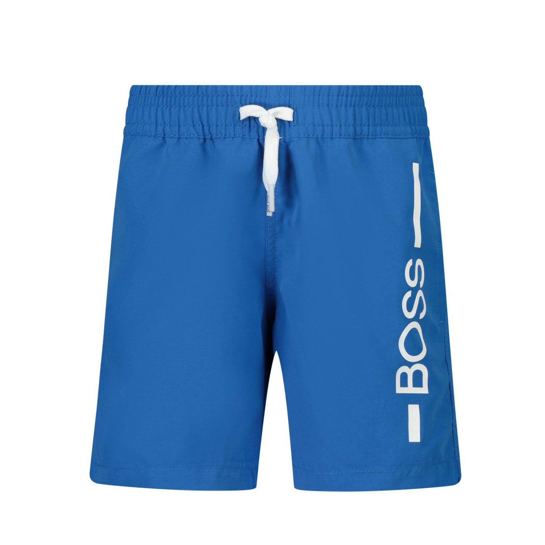 Picture of Boss J04404 baby swimwear cobalt blue