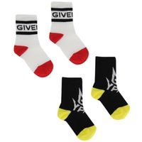 Picture of Givenchy H00031 baby socks black