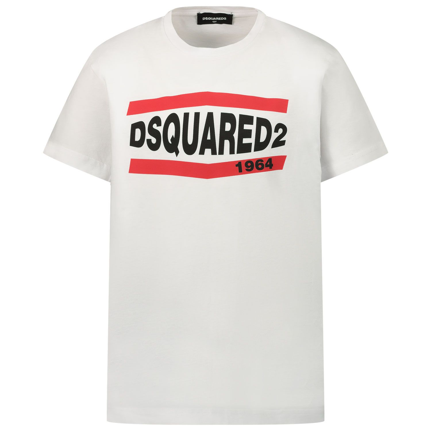 Picture of Dsquared2 DQ0150 kids t-shirt white