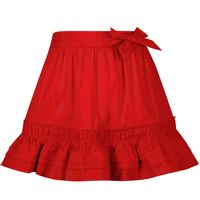Picture of Mayoral 3906 kids skirt red