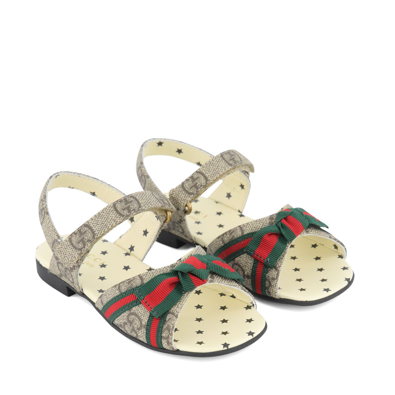 Picture of Gucci 647050 kids sandals beige