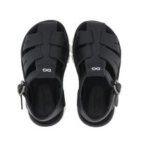 Picture of Dolce & Gabbana DL0065 AO240 kids sandals black