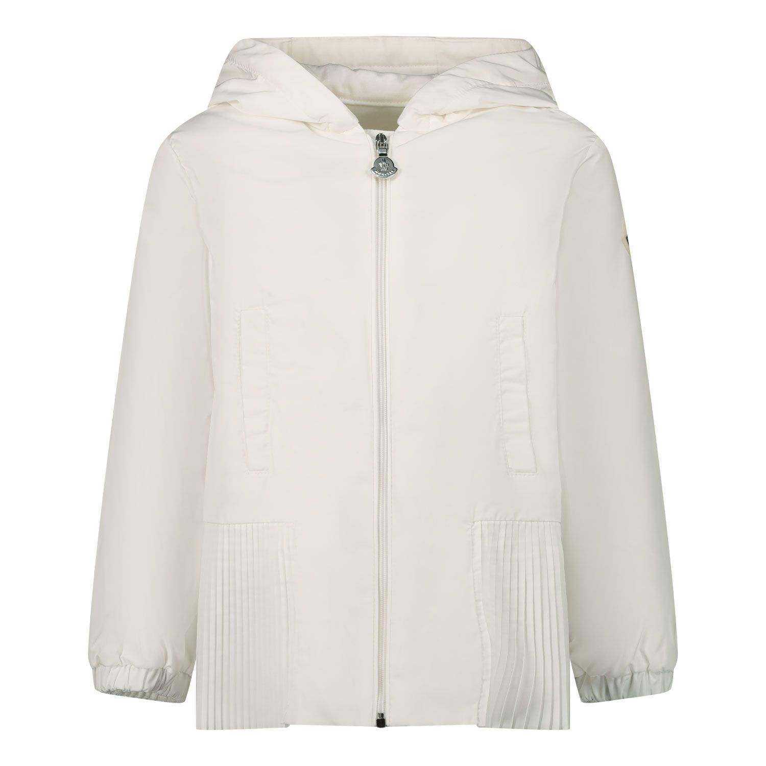 Picture of Moncler 1B70010 baby coat off white