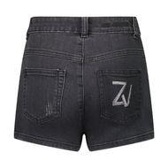 Afbeelding van Zadig & Voltaire X14113 kinder shorts zwart
