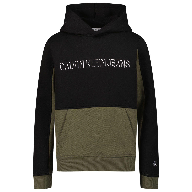 Picture of Calvin Klein IB0IB00997 kids sweater black