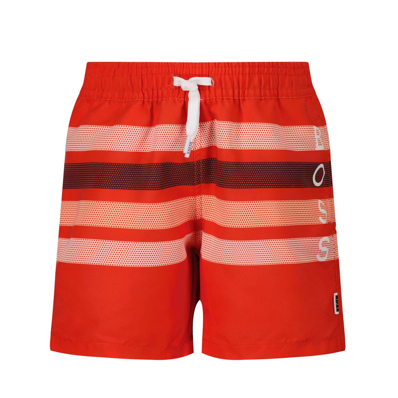 Picture of Boss J04406 baby swimwear red
