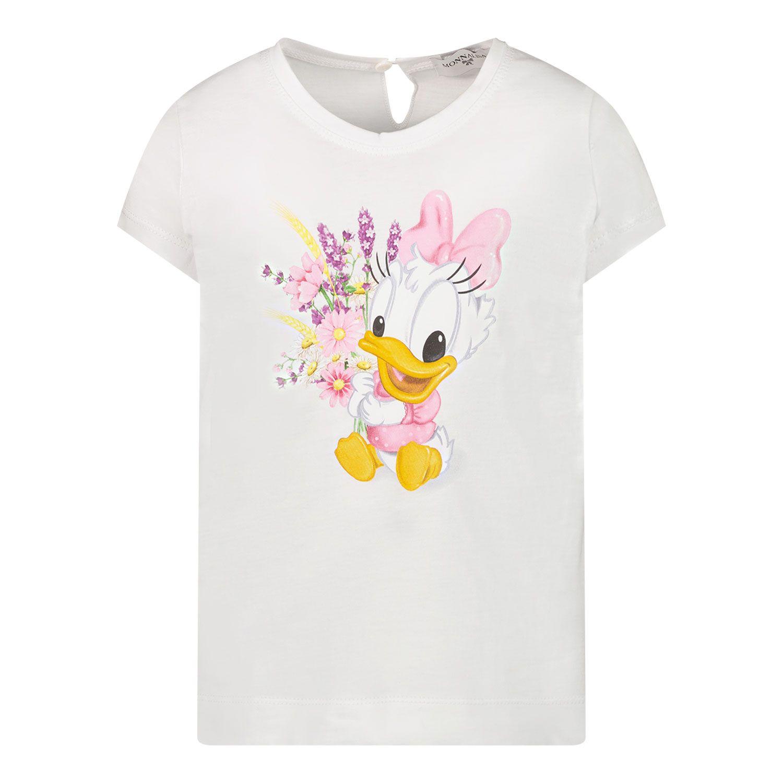 Afbeelding van MonnaLisa 317616PF baby t-shirt wit