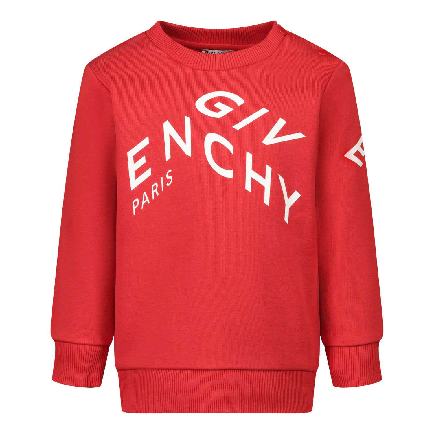 Picture of Givenchy H05157 baby sweater red