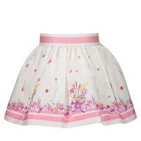 Picture of MonnaLisa 317702 baby skirt white