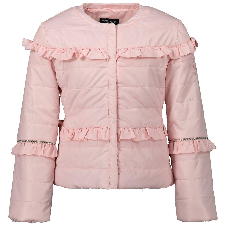 Afbeelding van MonnaLisa 175100 kinderjas licht roze