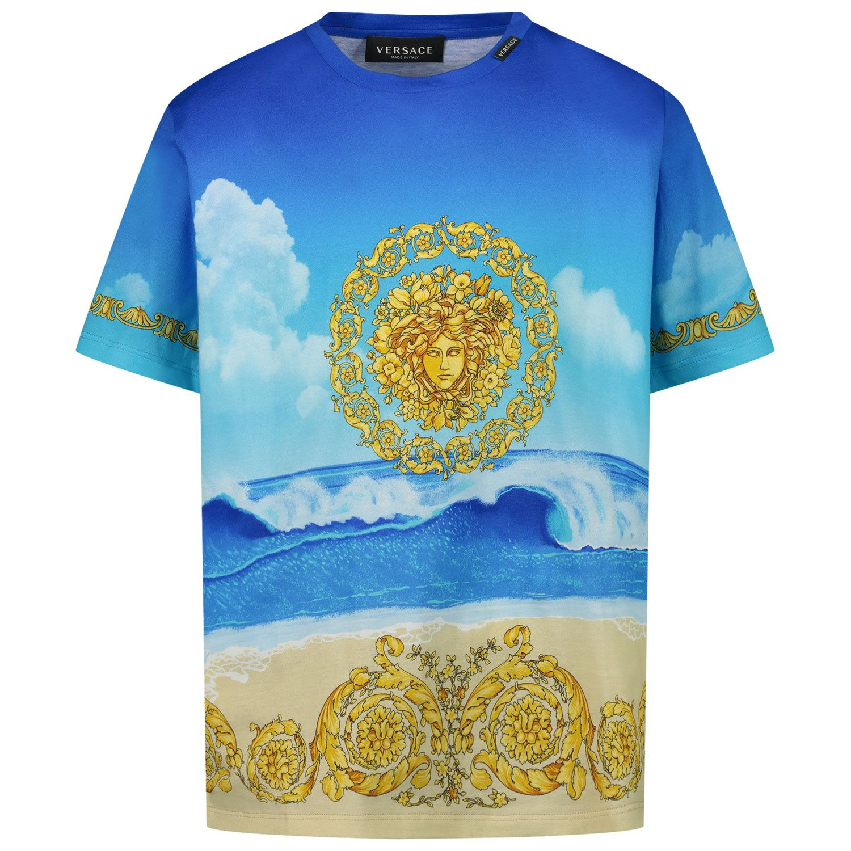 Bild von Versace 1000129 Kindershirt Blau