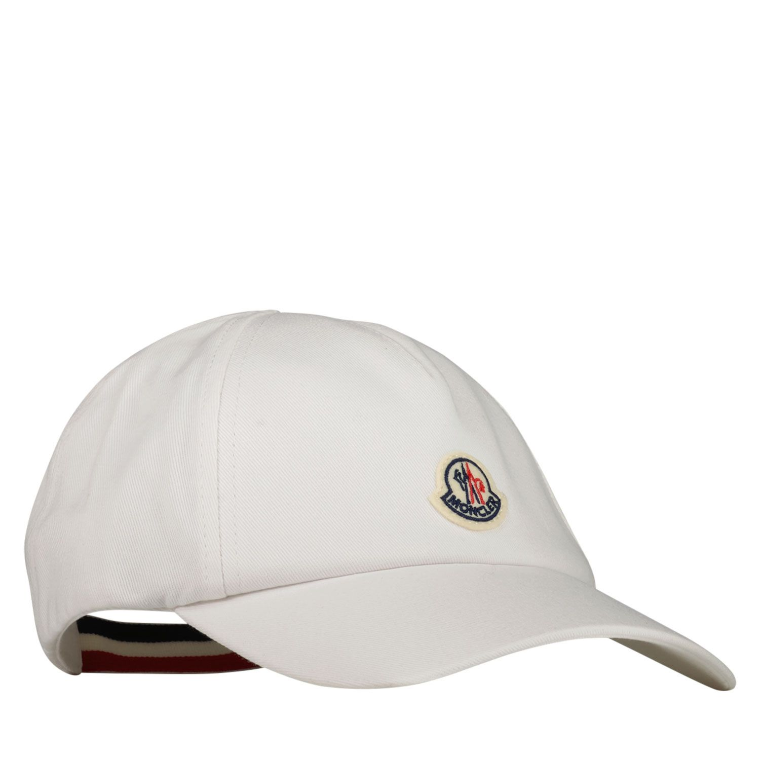 Picture of Moncler 3B70800 baby hat white