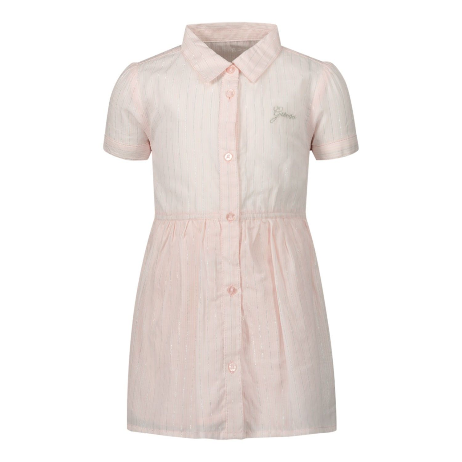 Picture of Guess A01K11 baby dress light pink