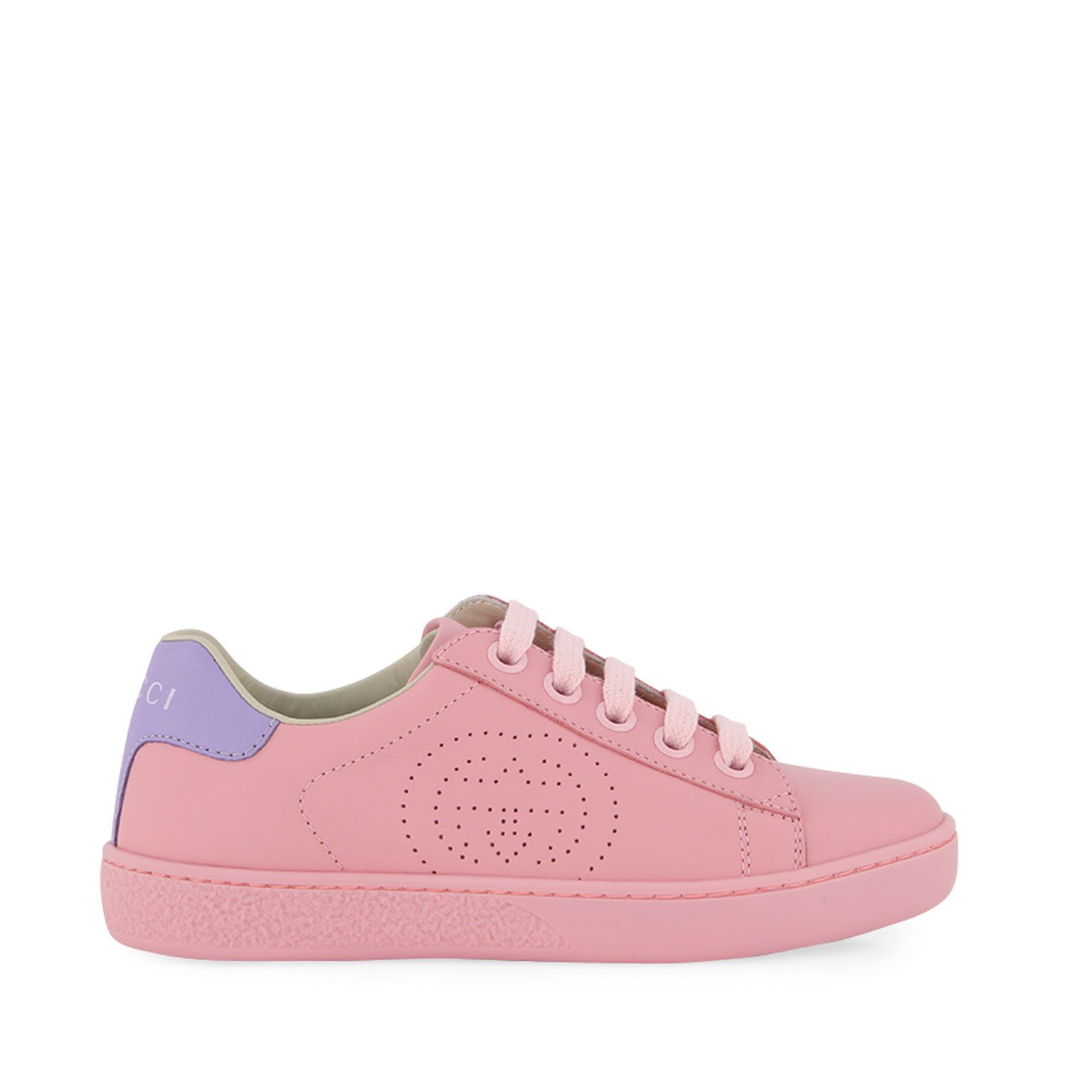 Picture of Gucci 626624 kids sneakers light pink