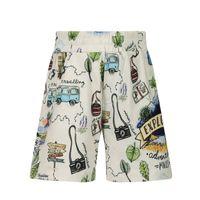 Picture of MonnaLisa 257407 kids shorts ecru