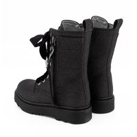 Picture of MonnaLisa 878005 kids boots black