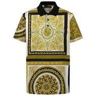 Afbeelding van Versace 1000127 kinder polo goud