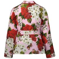 Picture of Dolce & Gabbana L54S06 / HS5GF kinder overhemd rose