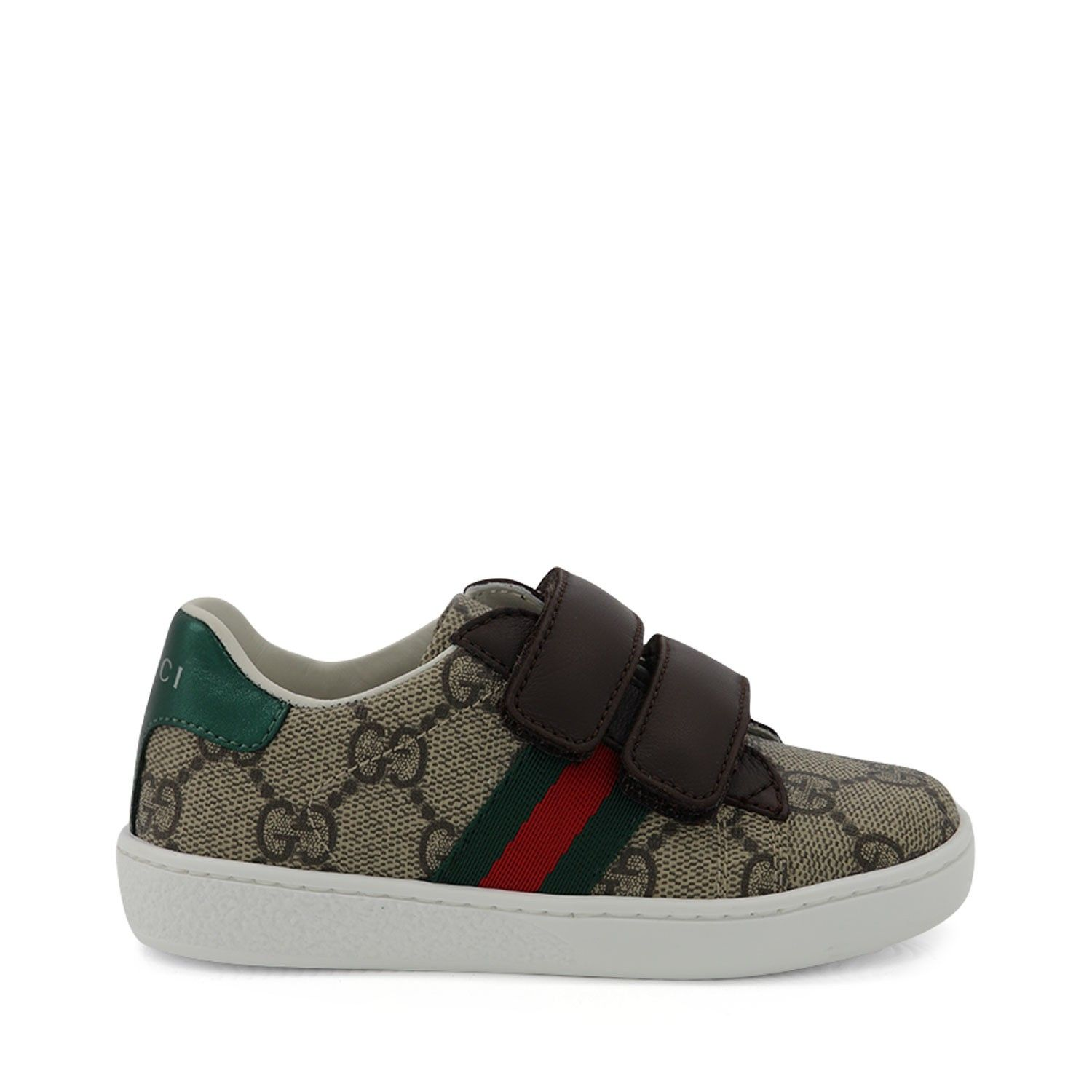 Picture of Gucci 463088 9C220 kids sneakers beige