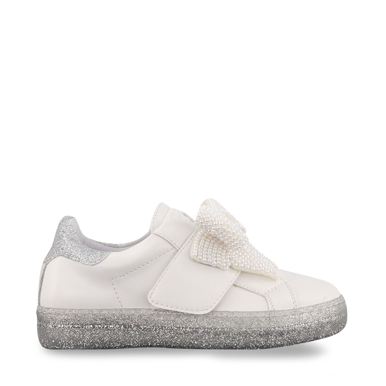 Picture of MonnaLisa 8C7009 kids sneakers white