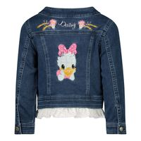 Picture of MonnaLisa 397104RE baby coat jeans