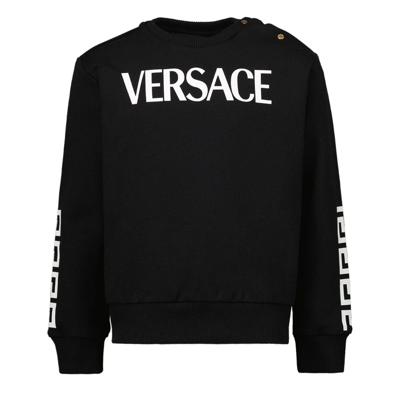Afbeelding van Versace 1000093 1A01322 baby trui zwart