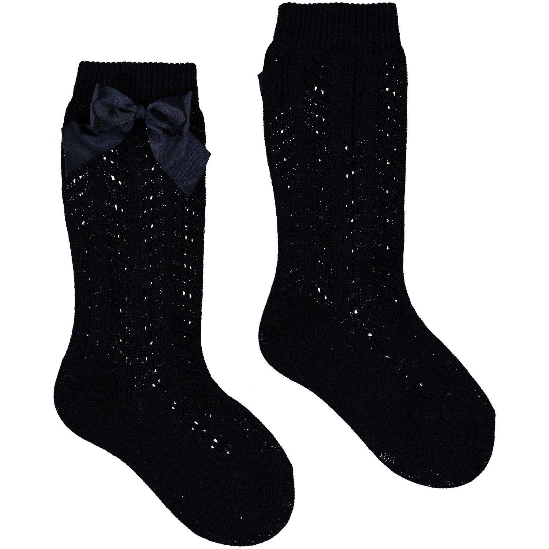 Picture of Story Loris 6354K kids socks navy