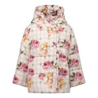 Picture of MonnaLisa 396104 baby coat pink