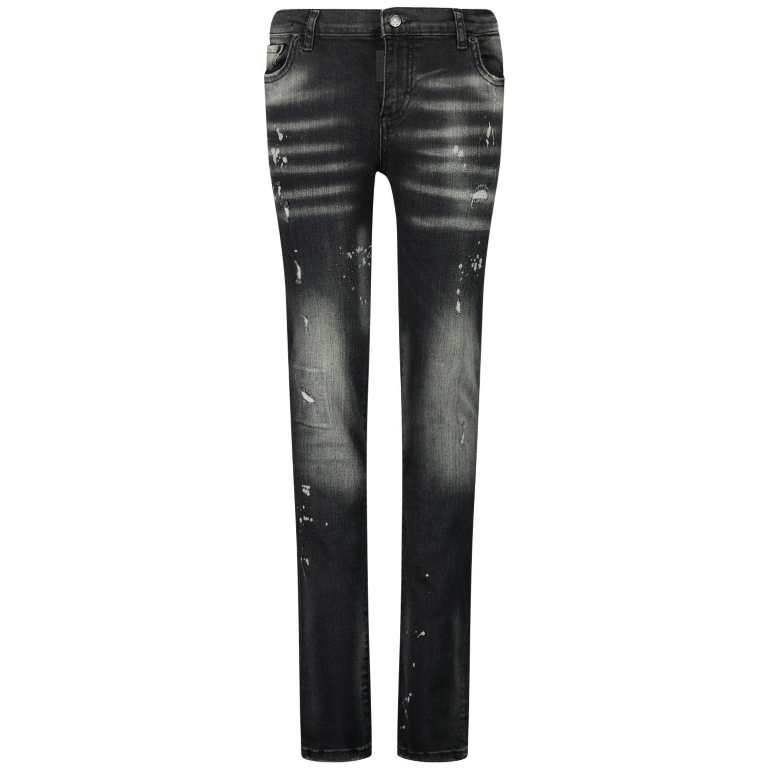 Picture of My Brand 3Y20003B0006 kids jeans grey