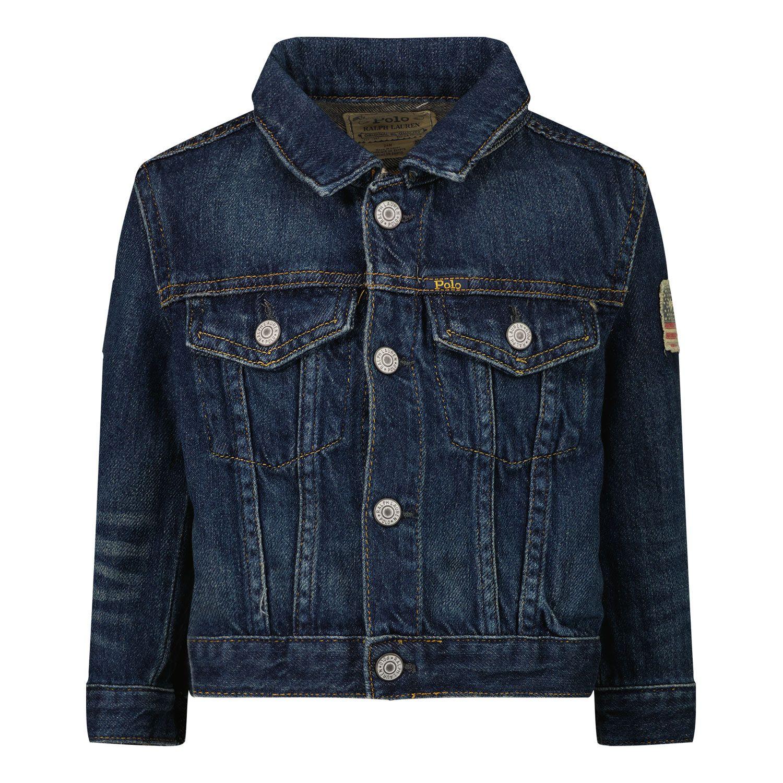 Picture of Ralph Lauren 320760027 baby coat jeans